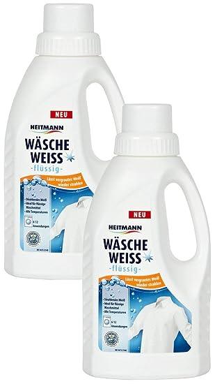 Heitmann Wäsche Weiß Flüssig Weißkraftverstärker Für Vergrauter