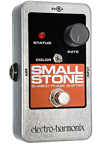 Electro Harmonix Small Stone Nano Analog Phase Shifter Guitar Effects Pedal (Phase Shifter Effects Pedal)