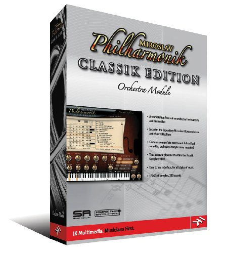 (MIROSLAV PHILHARMONIK        CLASSIKEDITION ORCHESTRA     MODULE     SOFTWARE)