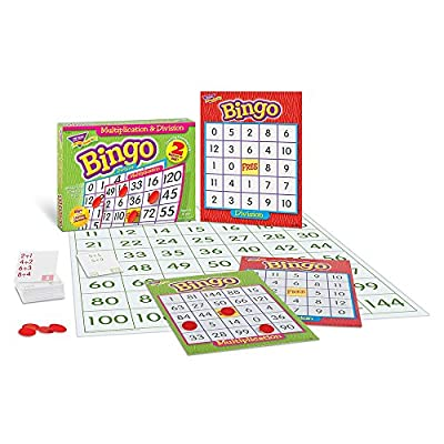 Multiplication & Division Bingo Game: Office Products