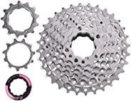 Bike Cassette, 8 Speed Bike Freewheel Cassette Sprocket for 11-32T Bicycle Replacement Accessory