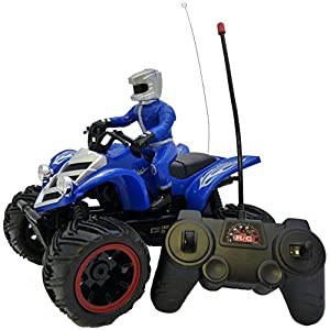Remote Control Quad Bike – Super Fun Speed Master Remote Control Toy Quad Bike By ThinkGizmos (Trademark Protected)