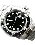 Whatswatch Parnis Submariner Ceramic Bezel Sapphire Glass Automatic Watch Luminous ZA-228
