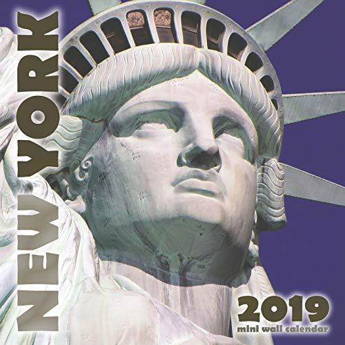 New York 2019 Mini Wall Calendar (2019 Christmas Liberty Shop)