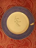 Wedgewood Sarah's Garden Blue Dinner Plate, Blue