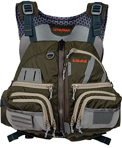 Kokatat Men's Leviathan Lifejacket (PFD)-Olive-XL/XXL