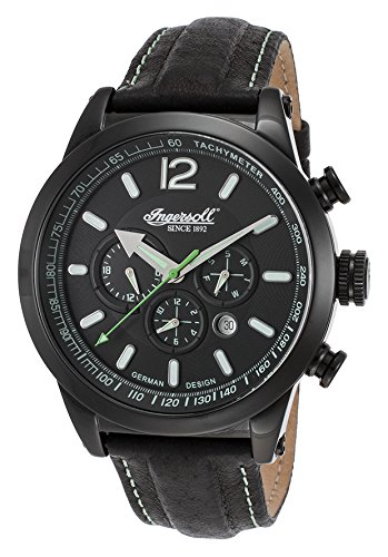 Ingersoll Men's IN3220BBK Taos Fine Automatic Timepiece Black Dial Watch