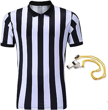 SHINESTONE - Camisa de árbitro para Hombre, de Baloncesto, fútbol ...