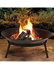 Foco de hierro fundido Fire cuenco cesta de jardín moderno elegante Fire Pit
