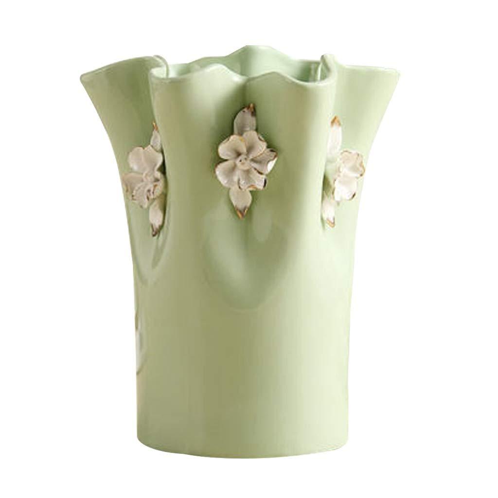 MAHONGQING セラミック現代のミニマリストの花瓶クリエイティブリビングルームの装飾装飾工芸品家具 B07T13GGF2