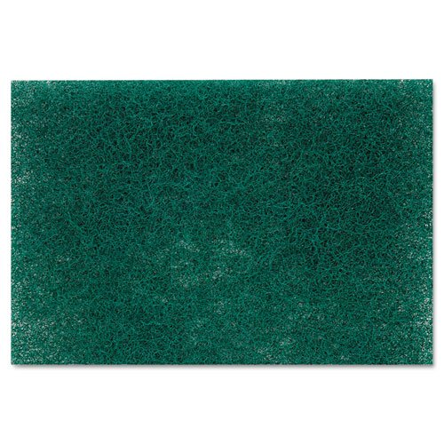 Scotch-Brite PROFESSIONAL Commercial Heavy Duty Scouring Pad 86, 6'' x 9'', Green, 12/Pack, 3 Packs/Carton
