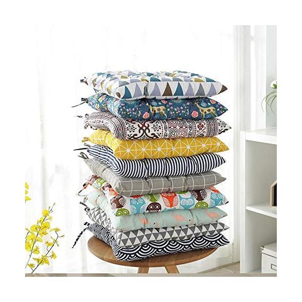 Dylandy - 1 x cuscino per sedia, per esterni, giardino, patio, casa, colore: rosa, 50 x 50 cm 4 spesavip
