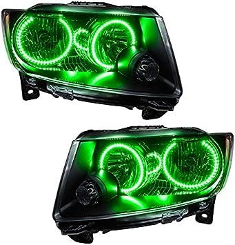 ORACLE Headlight HALO RING KIT for Chevrolet Silverado 07-13 GREEN LED