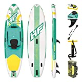 Bestway Hydro-Force Freesoul Tech Inflatable SUP Stand Up Paddle Board with Attachable Seat for Kayaking, Paddle, Carry Bag and Pump