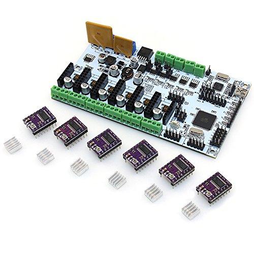 BIQU Control DRV8825 Stepper Heatsink