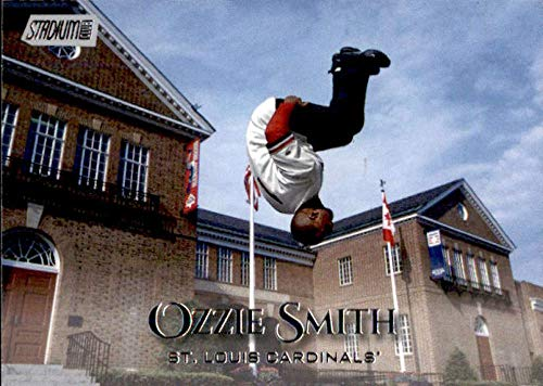2019 Topps Stadium Club #276 Ozzie Smith St. Louis Cardinals Baseball ()