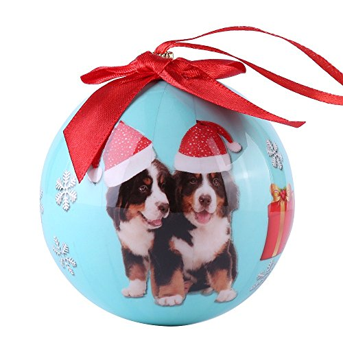 CueCue Pet ORNDOG109 Animal Collection Christmas Ball Ornament Décor by CueCue Pet