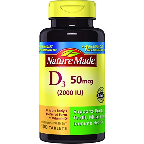 The Best Nature Made Vitamin D Sublingual 2000