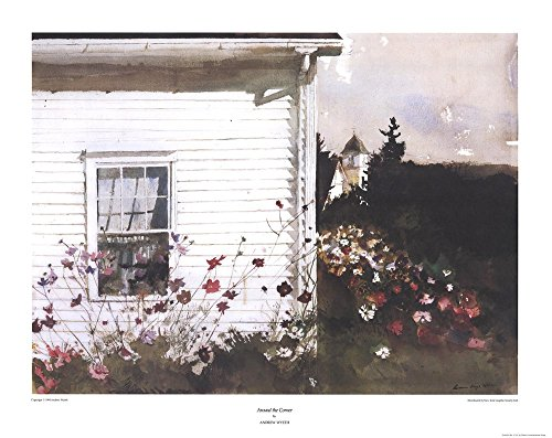 around-the-corner-by-andrew-wyeth-art-print-31-x-24-inches