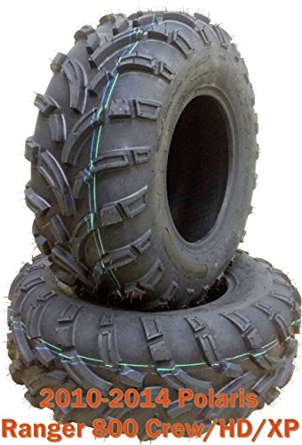 - Set 2 front ATV Tires 26x9-12 for 10-14 Polaris Ranger 800 Crew/HD/XP