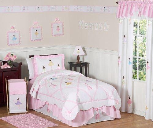 Sweet Jojo Designs Ballet Dancer Ballerina Queen Kids Children's Bed Skirt by Sweet Jojo Designs (Image #1)