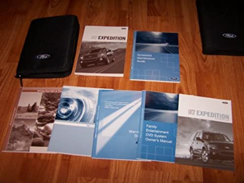 2007 ford expedition owners manual ford motor company amazon com rh amazon com 2007 ford expedition eddie bauer owners manual 2007 ford expedition el owner's manual