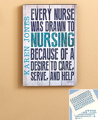 Personalized Occupational Plaques, Nurse, new in - Personalized Plaque Decorative