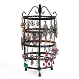 72/128 Holes Rotatable Earring Display Holder Round Square Metal...