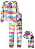 Dollie & Me Big Girls' Polka Dot Snugfit Sleepwear