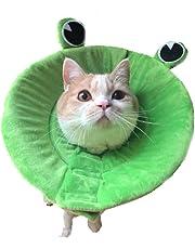 Bello Luna Soft Cone Recovery E-Collar für Hunde und Katzen mit Froschform (Größe S und L)