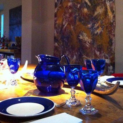 Mario Luca Giusti Set 6 Dolce Vita Wine Glass Blue by Mario Luca Giusti (Image #2)