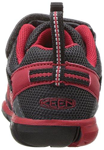 Keen para niños Chandler CNX Tots BLACK/TANGO RED