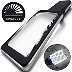 MagniPros 3X(300%) Magnifying Glass with...