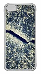 iPhone 5C Case, Personalized Custom Crack for iPhone 5C PC Clear Case