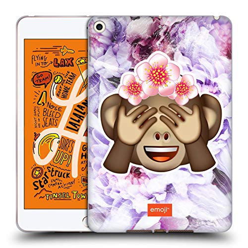 - Official Emoji Monkey Solos Soft Gel Case Compatible for iPad Mini (2019)