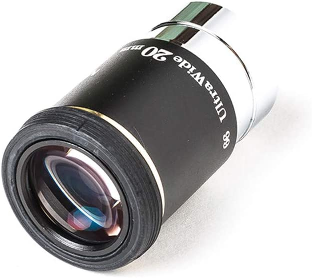 MEOPTEX 1.25 6mm 9mm 15mm 20mm 66-Degree Ultra Wide Angle Eyepiece for Telescope 15mm