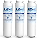 Waterspecialist MSWF Refrigerator Water Filter, Replacement for GE, SmartWater, 238C2334P006, 101820, 101821 (Pack of 3)