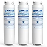 Waterspecialist MSWF Replacement Refrigerator Water Filter, Compatible with GE MSWF, SmartWater, 238C2334P006, 101820, 101821, 3 Pack