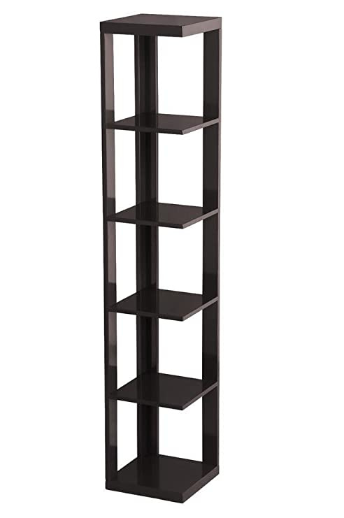 Amazon.com: topeakmart 5 Tier Café Expreso Madera Pared ...