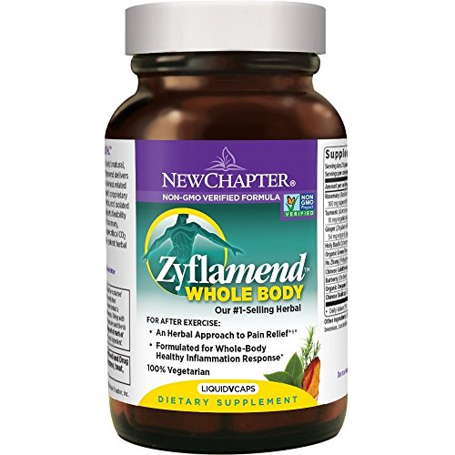 The #1-selling herbal formula in the U.S. (according to 2009 SPINS data) for healthy inflammation response* – New Chapter Zyflamend Whole Body