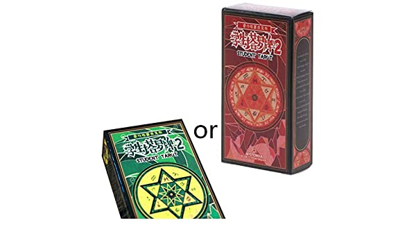 JIACUO Rider Tarot Cards con Caja Colorida Astrología misteriosa ...
