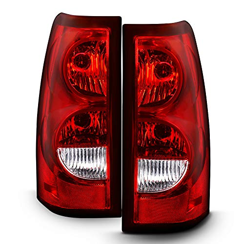 Tail Driver Light Oem - ACANII - For 2003-2006 Chevy Silverado 1500 2500 3500 [OE Factory Style] Tail Lights Brake Lamps Driver & Passenger Side