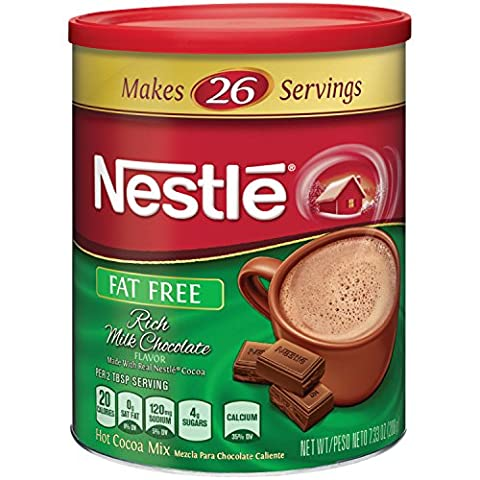 Nestle Hot Cocoa Mix, Fat Free With Calcium, 7.33 oz - Hot Chocolate With Cocoa Powder