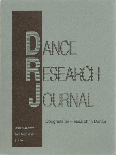 Dance Research Journal: 29/2 Fall 1997