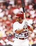 Autographed Schumaker Photograph - At Bat 8x10 W coa - Autographed MLB Photos