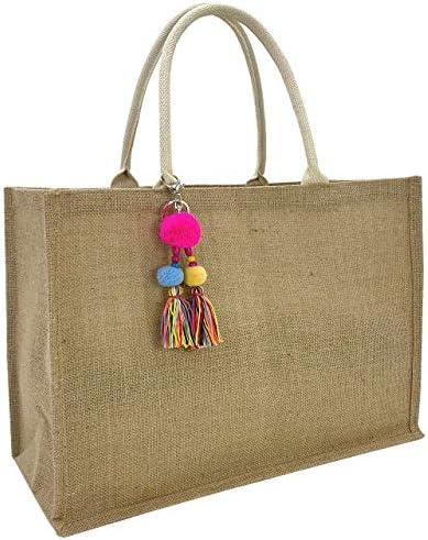 Hibala Woven Large Beach Straw Bag