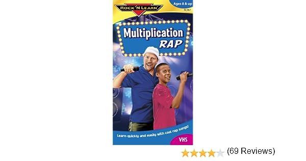 Amazon.com: Rock 'N Learn:Multiplication Rap [VHS]: Rock 'N Learn ...
