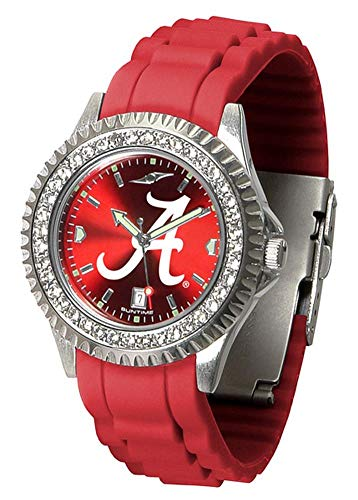 New Linkswalker Ladies Alabama Crimson Tide Sparkle Watch