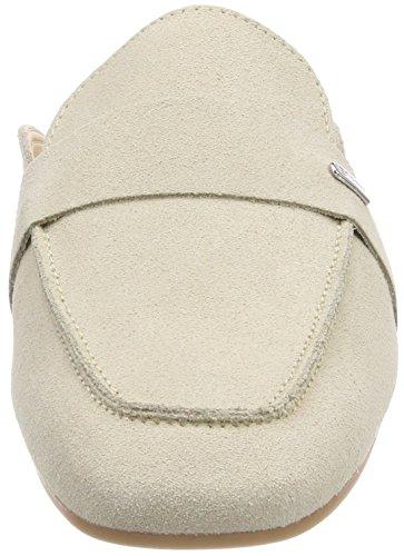 Esprit Manu Slide, Sandalias de Talón Abierto Para Mujer Beige (Cream Beige)