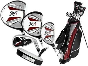 Knight Men's XVII Complete Golf Set (Right Hand, Regular Flex, Driver, 3 Fairway Wood, 4/5 Hybrid, 6-PW, Putter, Bag)